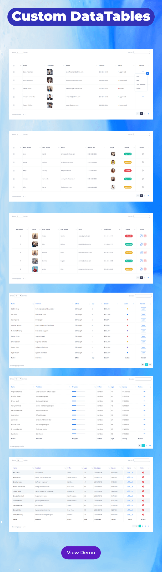 Equation - Responsive Admin Dashboard Template - 4